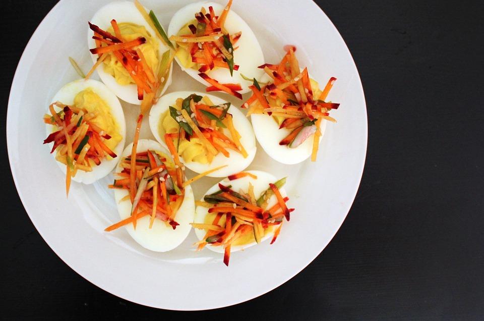 gevulde eieren maken